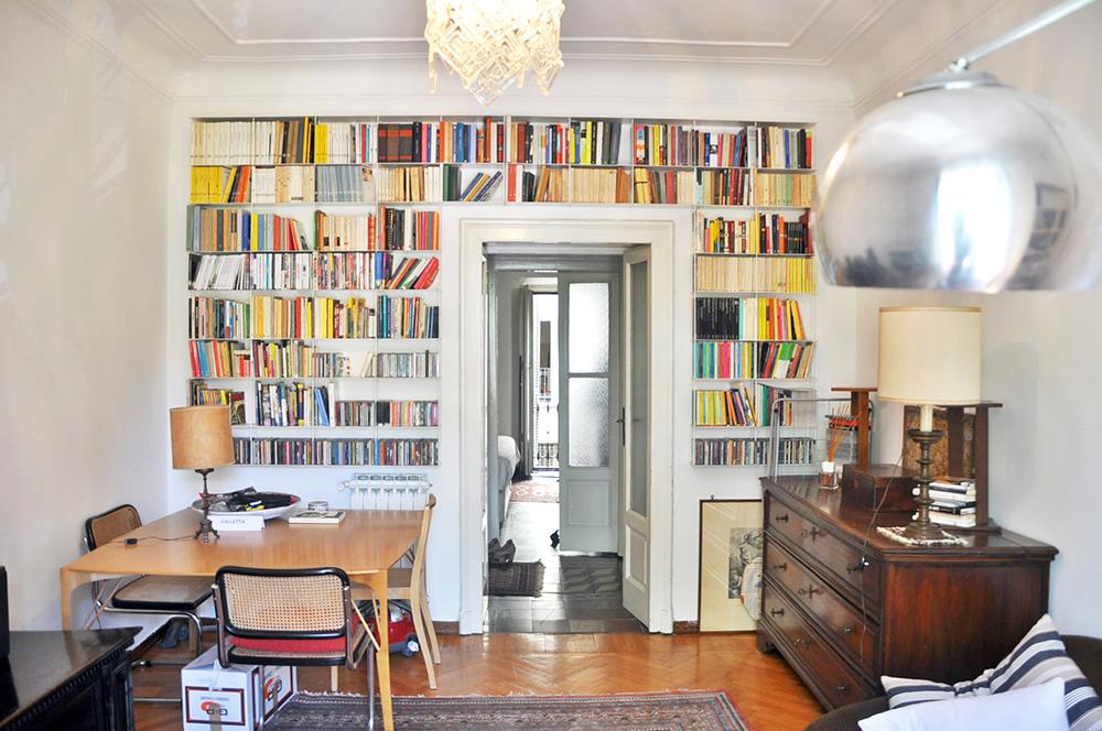 Kriptonite libreria da parete krossing alluminio cm