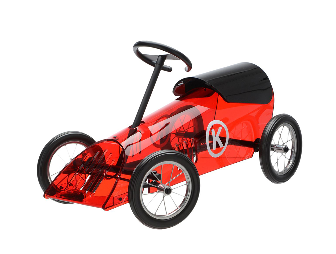 Kartell Kids Car For Children Discovolante Red Pmma Metal And