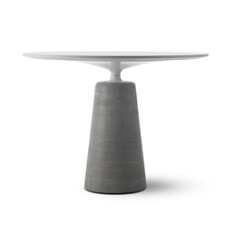 MDF ITALIA tavolo ROCK TABLE Ø 100 cm