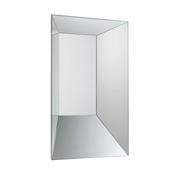 GLAS ITALIA wall mirror LEON BATTISTA