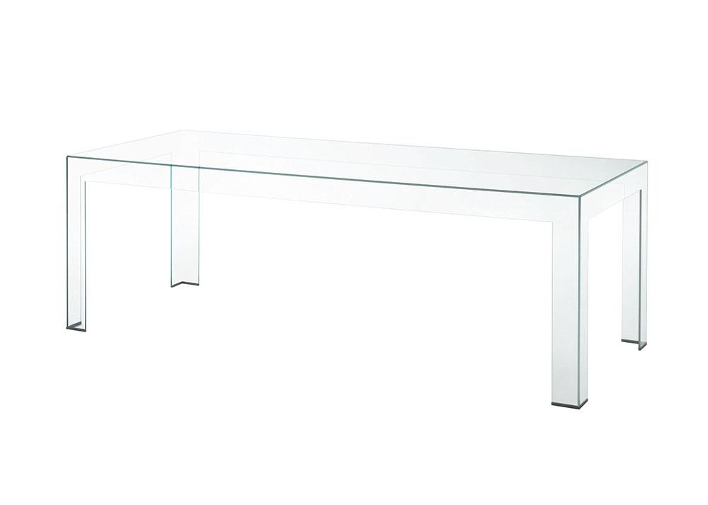 glas italia tavolo alto atlantis 250 x 100 x h 74 cm