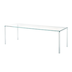 GLAS ITALIA rectangular table OSCAR