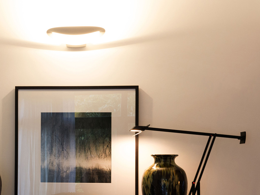 Artemide lampada da parete mesmeri - Lampada parete artemide ...
