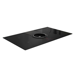 ELICA induction hob with duct-out hood NIKOLATESLA