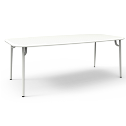 PETITE FRITURE outdoor rectangular table WEEK-END 220x85 cm