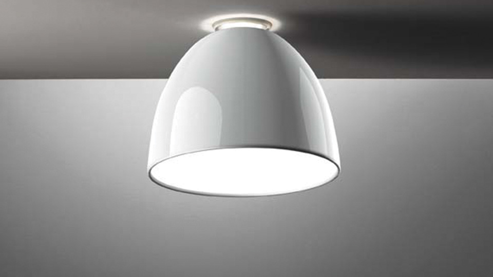 Lampade Da Soffitto A Led : Artemide lampada da soffitto nur mini gloss led halo gloss