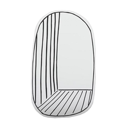 BONALDO wall mirror NEW PERSPECTIVE LARGE