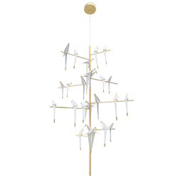 MOOOI lampada a sospensione PERCH LIGHT TREE