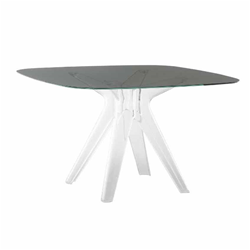 KARTELL table SIR GIO with square top