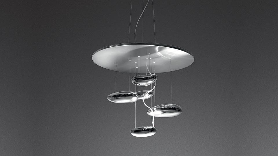 Lampade A Sospensione Led : Artemide lampada a sospensione mercury mini led led integrato