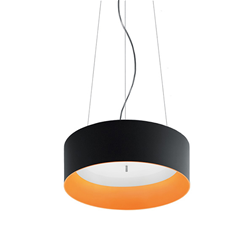 ARTEMIDE lampe à suspension TAGORA SUSPENSION 570 avec le faisceau lumineux XF DIRECT + INDIRECT EMISSION
