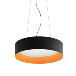 ARTEMIDE lampe à suspension TAGORA SUSPENSION 970 avec le faisceau lumineux XF DIRECT ET INDIRECT EMISSION