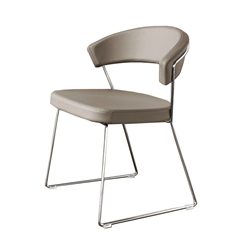 CONNUBIA CALLIGARIS set of 2 chairs NEW YORK CB/1022-LH