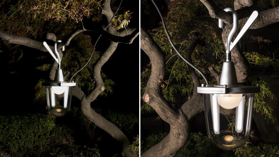 Sospensione da esterni LED Artemide Tolomeo Lampione Outdoor