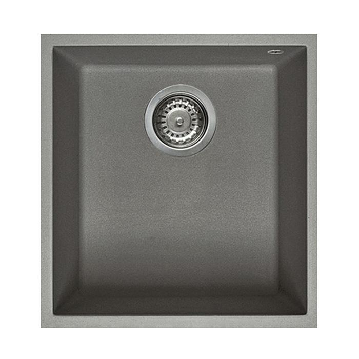 Elleci lavello monovasca quadra 100 sottotop granitek - Lavello cucina sottotop ...