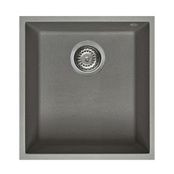 ELLECI sink 1 bowl QUADRA 100 UNDERMOUNT