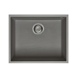 ELLECI sink 1 bowl QUADRA 105 UNDERMOUNT