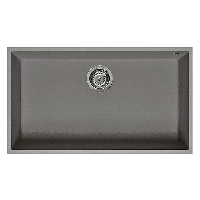 ELLECI lavello monovasca QUADRA 130 SOTTOTOP (- - Granitek ...