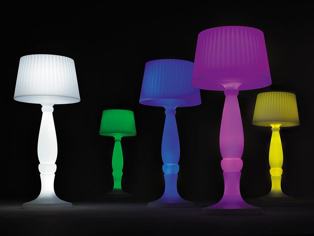 Lampade in plastica da giardino lusso lampada da terra per esterni