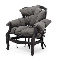 MOGG armchair 7 PILLOWS