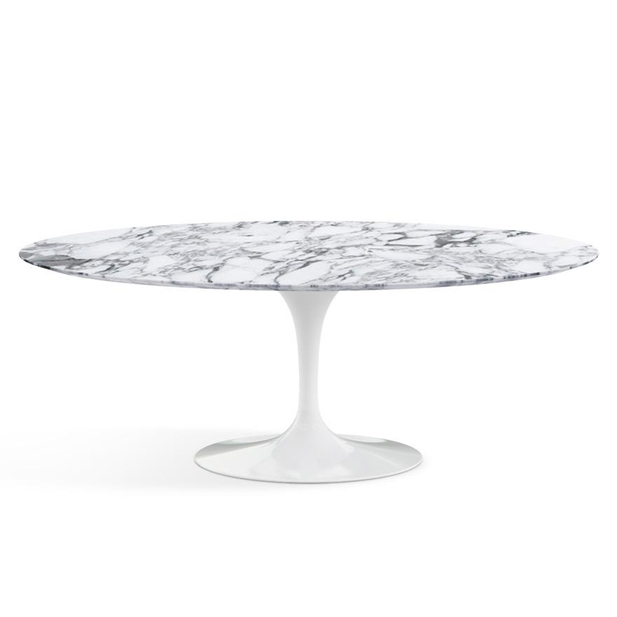 KNOLL Tavolo Ovale Alto TULIP Collezione Eero Saarinen 198x121cm