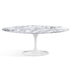 KNOLL oval table TULIP Eero Saarinen's collection 198x121cm