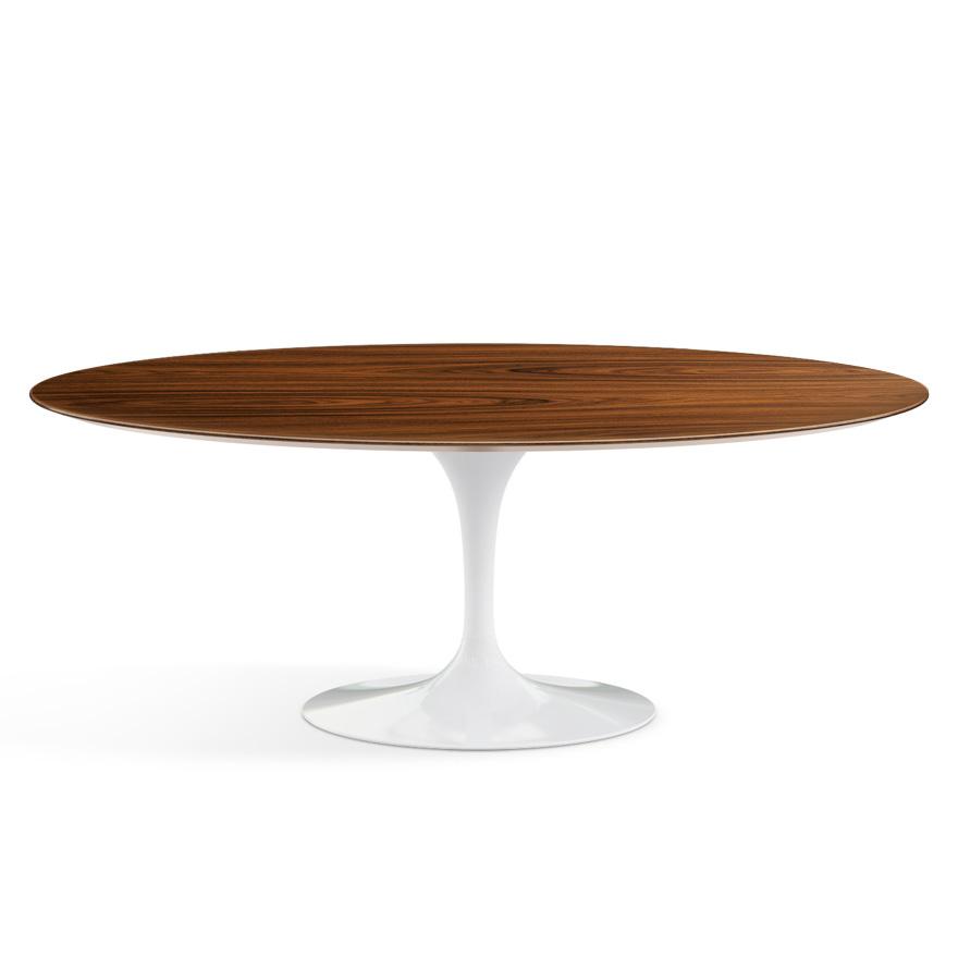 KNOLL tavolo ovale alto TULIP collezione Eero Saarinen 198x121cm ...