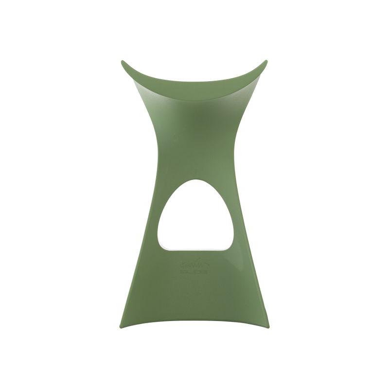 Slide sgabello koncord verde malva polietilene for Sgabello verde