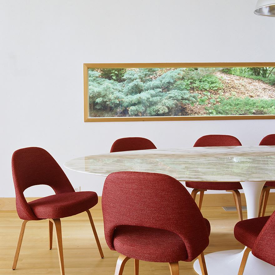 KNOLL tavolo ovale alto TULIP collezione Eero Saarinen 244x137 cm ...