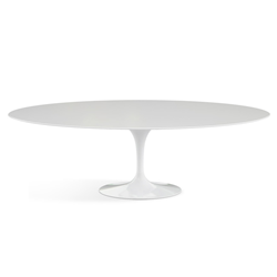 KNOLL table ovale TULIP collection Eero Saarinen 244x137 cm