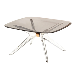 KARTELL coffee table BLAST with square top