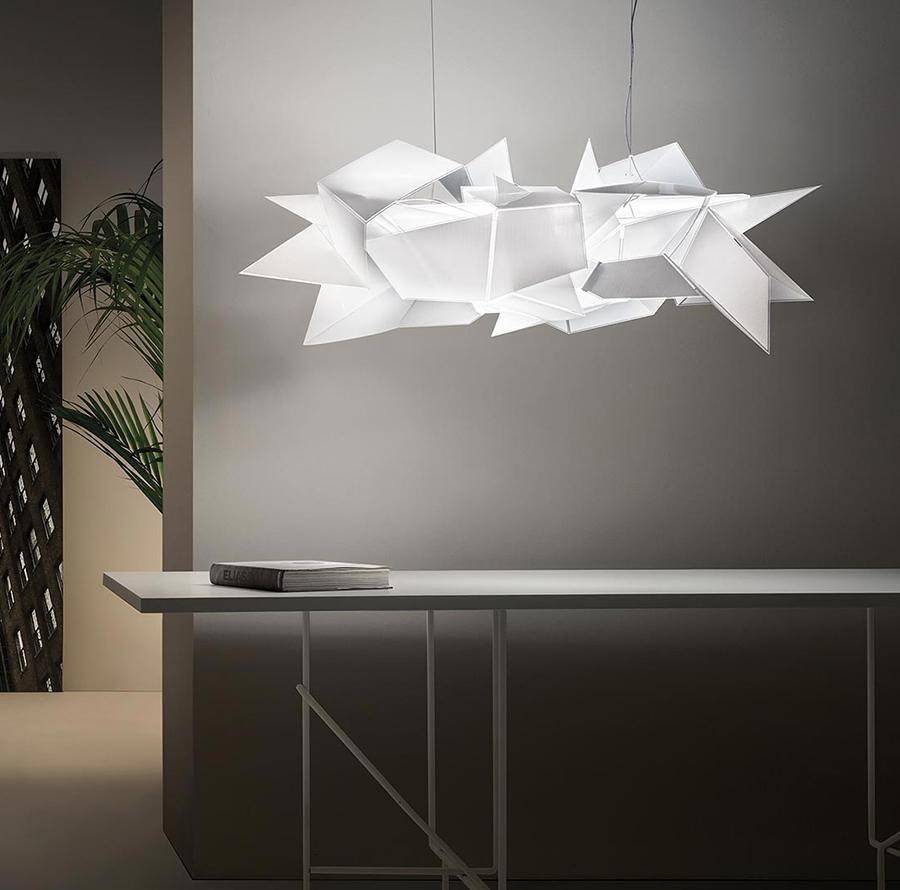slamp lampada a sospensione cordoba. Black Bedroom Furniture Sets. Home Design Ideas