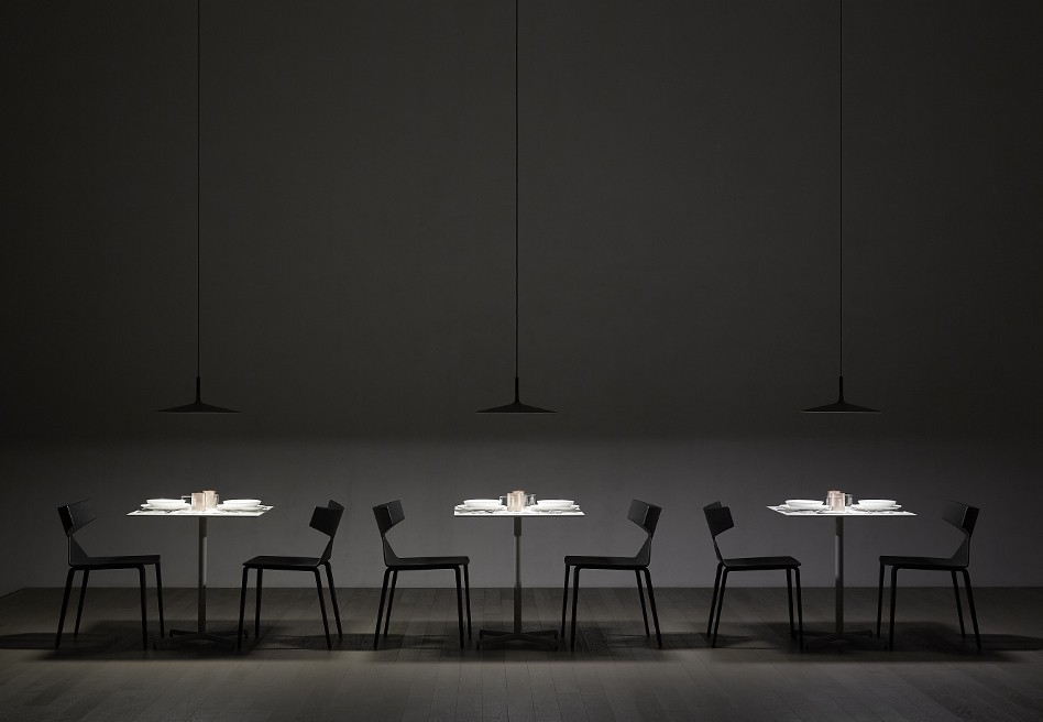 Lampade Ufficio Sospensione : Foscarini lampada a sospensione aplomb large a led dimmerabile
