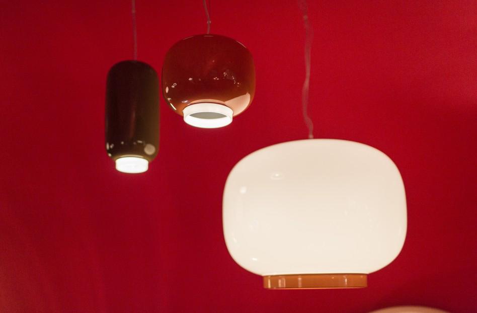 Foscarini lampada a sospensione chouchin reverse a led