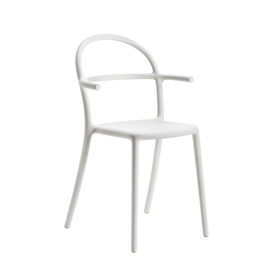 KARTELL set da 2 sedie GENERIC C (Bianco - Polipropilene ...