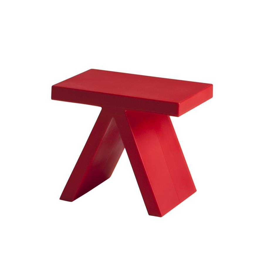 slide tavolino toy rosso polietilene. Black Bedroom Furniture Sets. Home Design Ideas