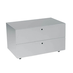 KRIPTONITE container on wheels with 2 drawers W 75,5 cm