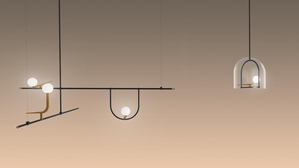 Artemide lampada a sospensione yanzi myareadesign.it