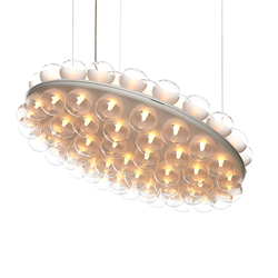 MOOOI lampada a sospensione PROP LIGHT ROUND DOUBLE