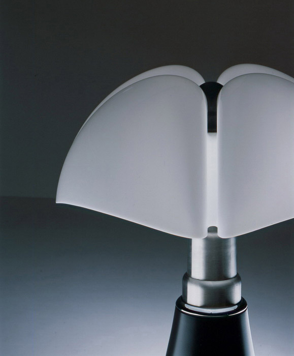 MARTINELLI LUCE lampada da tavolo PIPISTRELLO con dimmer - MyAreaDesign.it