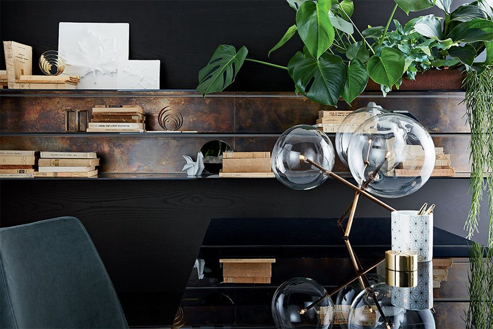 Gallotti radice lampada da tavolo bolle tavolo myareadesign