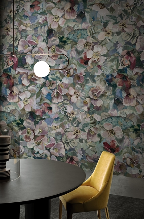 Wall dec carta da parati contemporary wallpaper for Carta parati vinile