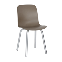 MAGIS set of 2 chairs SUBSTANCE ALUMINIUM