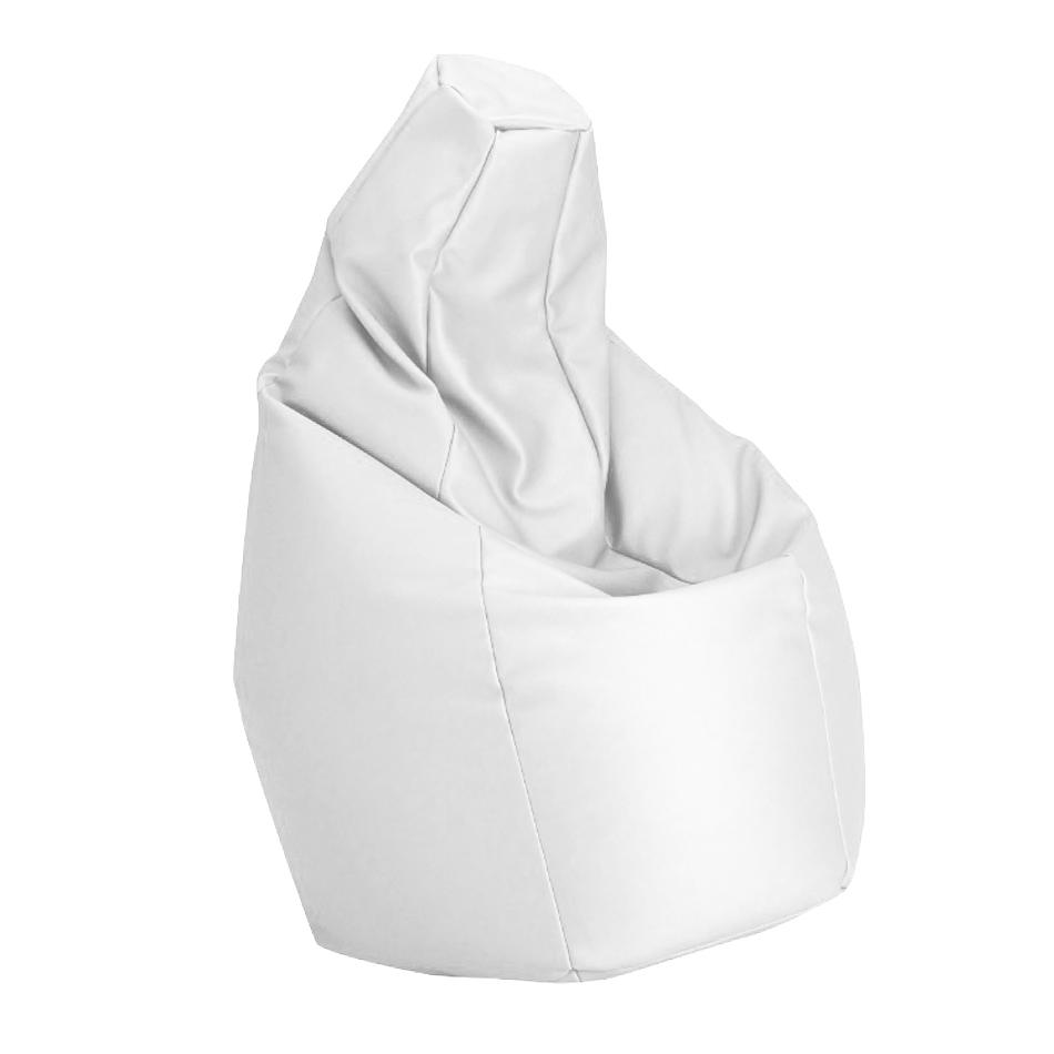Poltrona A Sacco Zanotta Prezzo.Zanotta Poltrona Anatomica Sacco Bianco Ecopelle Vip