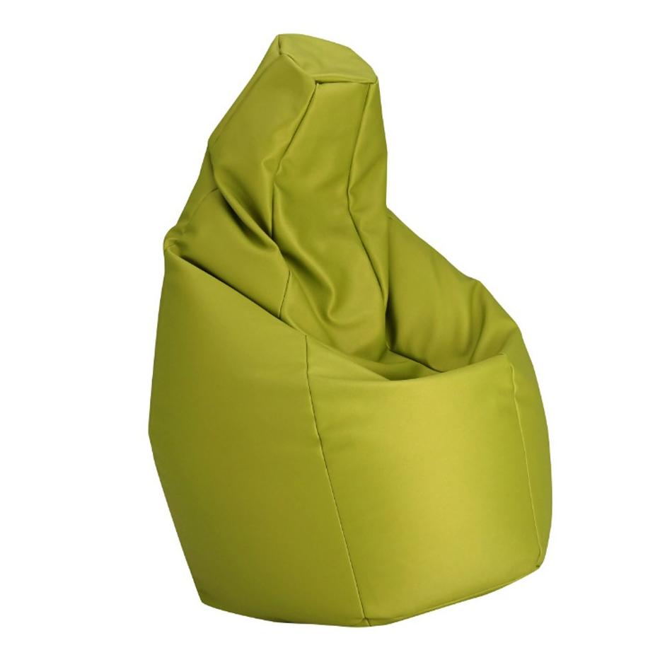 Zanotta poltrona anatomica sacco verde ecopelle vip for Poltrona sacco zanotta