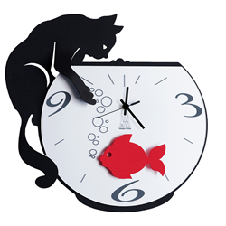 ARTI E MESTIERI wall clock TOMMY & FISH