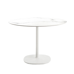 KARTELL table MULTIPLO with round top Ø 135 cms and large square base