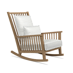 GERVASONI outdoor rocking armchair INOUT 709