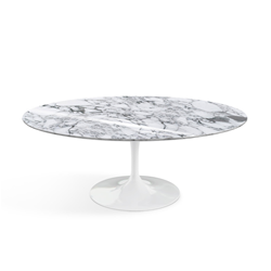 KNOLL oval low coffee table TULIP Eero Saarinen's collection