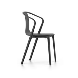 VITRA chair with arms BELLEVILLE ARMCHAIR with arms PLASTIC